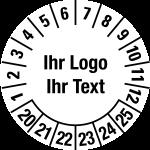 Multi-year test sticker 2020-2025 | Own Words
