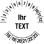 Multi-year test sticker 2018-2023 | Own Words