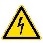 Warning sign - Warning of dangerous electrical voltage
