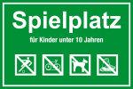 Playground sign - playground