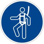 Mandatory Mark - Use Harness