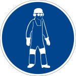 Mandatory sign - Use body protection