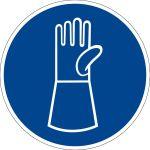 Mandatory sign - use pulse protection