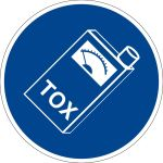 Mandatory sign - carry the toximeter with you