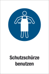 Mandatory Shield - Use protective apron