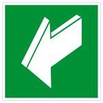 Escape route sign - pull escape route