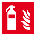 Fire safety sign - fire extinguisher