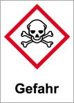 GHS labeling - Danger, acute toxicity