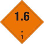 Danger sign - Explosive substances 1.6