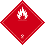 Danger sign - Flammable gases