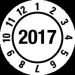Annual test plaque 2017 | JP18 | favorite color