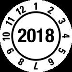 Annual Test Plaque 2018   JP19   favorite color