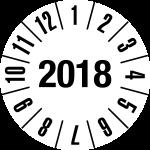 Annual Test Plaque 2018 | JP09 | favorite color