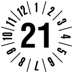 Annual test sticker 2021 | JP121 | favorite color