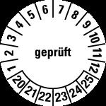 Multi-year test sticker 2020 - 2025 | Checked