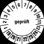 Multi-year test sticker 2019 - 2024 | Checked