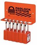 Wall bracket for 6-8 locks
