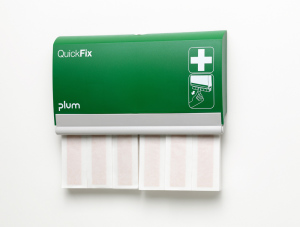 Plum Plaster Dispenser QuickFix Finger Bandages | elastic long | Including 2 x 30 finger bandages
