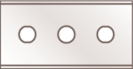 Ersatzklingen Scrapex Inox (37020)
