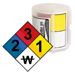 Labels for the LabelMax SP3 | Danger diamond | 100 x 100 mm
