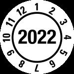 Jahresprüfplakette 2022 | JP422 | Wunschfarbe