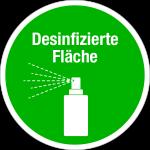 Information sign round