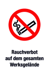 Prohibition Sign - Smoking Prohibition