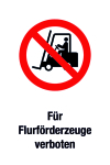 Prohibition sign - prohibited for lorries