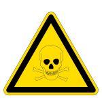 Warning signs - Warning of toxic substances