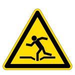 Warning sign - Warning of danger of collapse