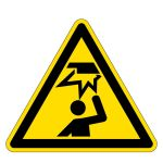 Warning signs - warning of impact injuries