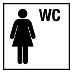 Turkish drawing - WC ladies