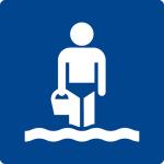 Swimming pool sign - children's pool