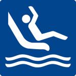 Swimming pool sign - slide