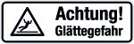 Winterschild - Attention! Slippery road