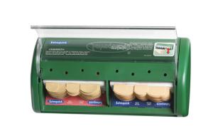 Salvequick trowel dispenser