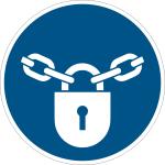 - Keep locked