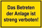 Warning Sign - Do not enter!