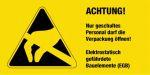 Warning sign - ESD