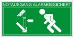 Escape route sign - panic left hand bar