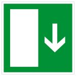 Emergency exit sign - Emergency exit