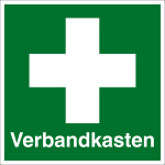 Rescue sign - First aid kit