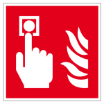 Fire Safety Signs - Fire Detectors