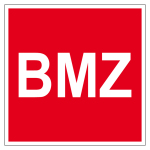 Fire protection mark - BMZ