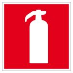 Fire protection sign - fire extinguishers